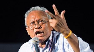 Suthep, former deputy PM.  Christ, what an ***hole.