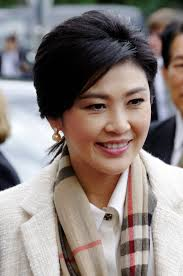 Yingluck Shinawatra, former PM.  Probably a tool.